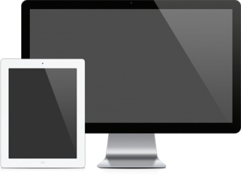 Tablet and Desktop monitor